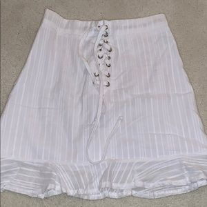 Urban outfitters white skirt